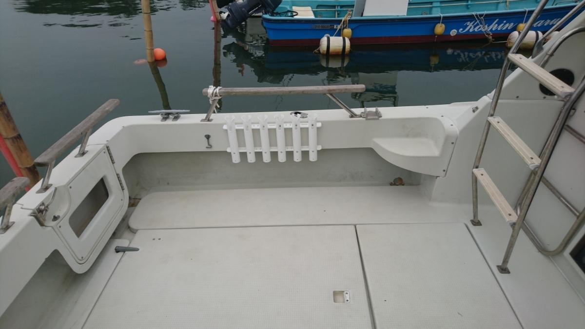 【値下げ有】ヤマハ PC30Ⅲ 左右1000アワー程度の低時間 宮城県 船検長い 修理必要_画像8