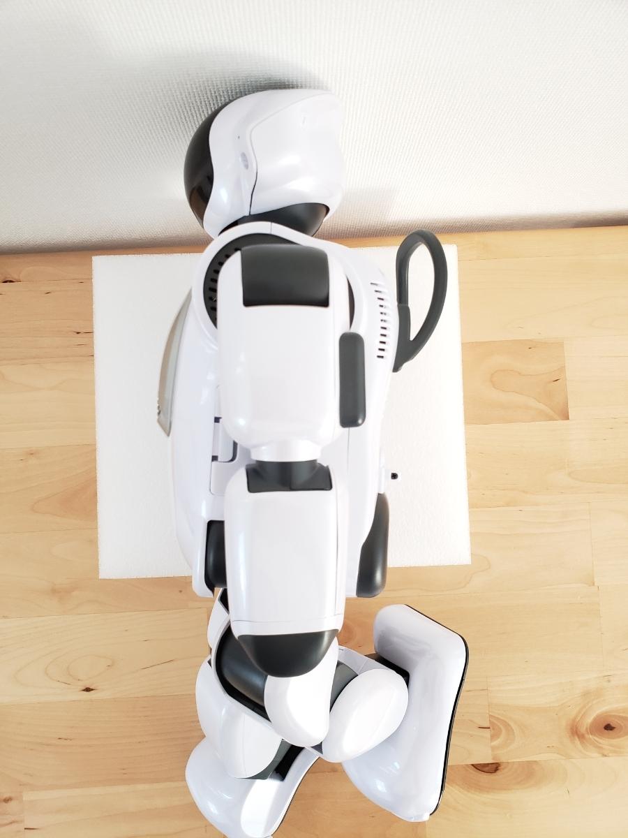【美品・送料無料・即決あり】DMM make ROBOTS/FUJISOFT Palmi(パルミー) 二足歩行ロボット PRT-D004JW 購入価格32万円_画像6