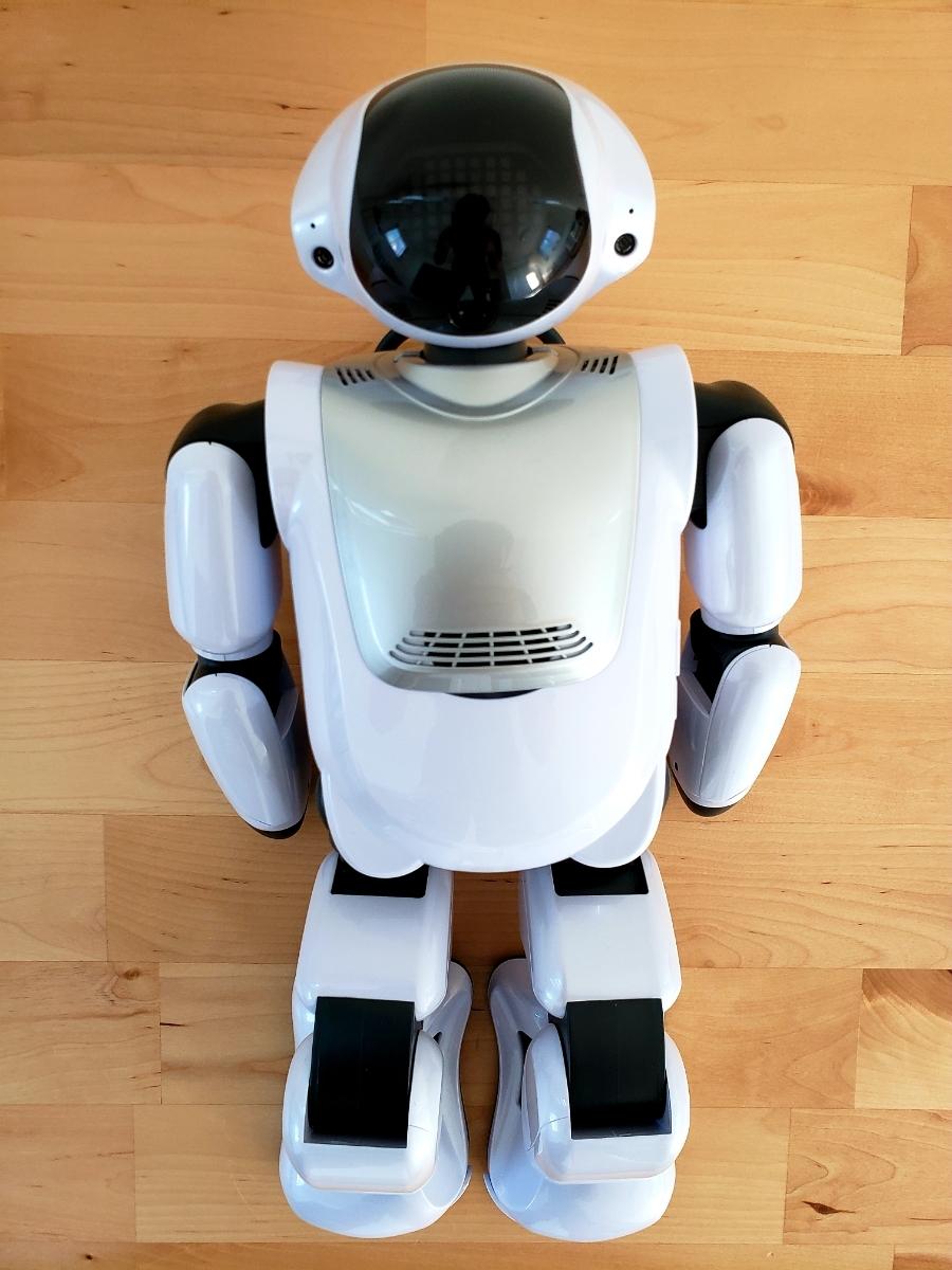 【美品・送料無料・即決あり】DMM make ROBOTS/FUJISOFT Palmi(パルミー) 二足歩行ロボット PRT-D004JW 購入価格32万円
