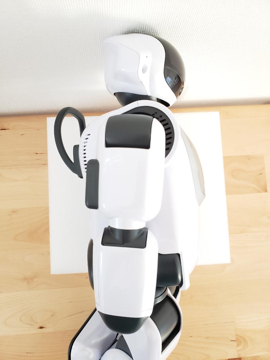 【美品・送料無料・即決あり】DMM make ROBOTS/FUJISOFT Palmi(パルミー) 二足歩行ロボット PRT-D004JW 購入価格32万円_画像5