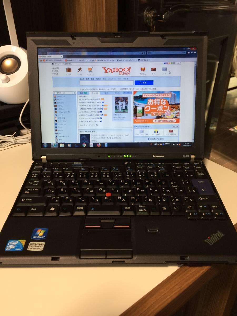 ThinkPad X201 Core i5-2.4GHz/メモリ6GB/320GB/Win7_画像2