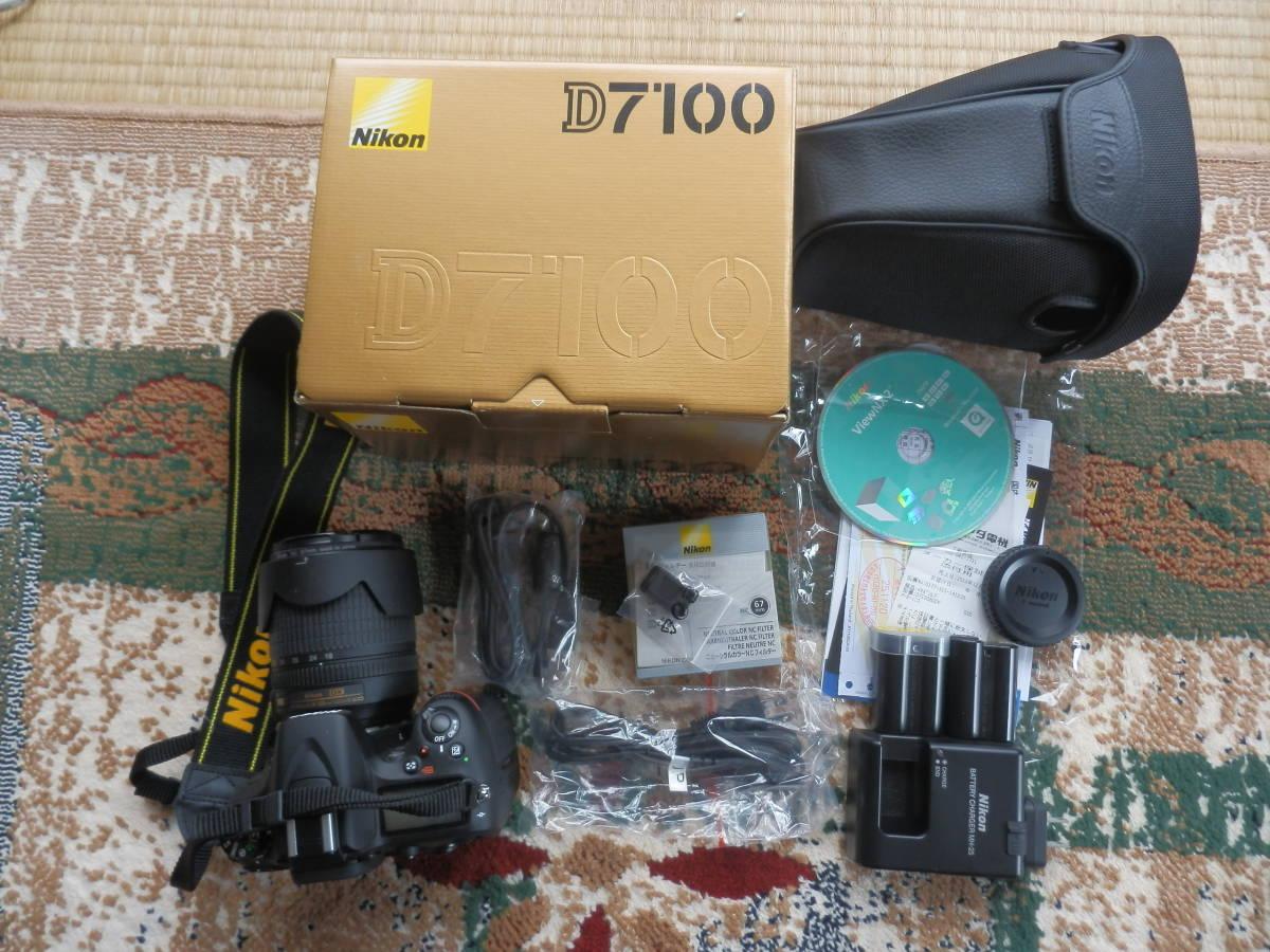 美品 D7100 AF-S18-105VR ショット数9644_画像5