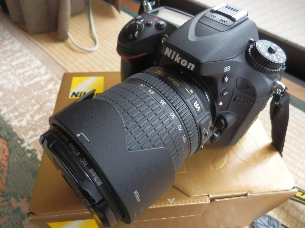 美品 D7100 AF-S18-105VR ショット数9644_画像4