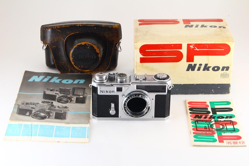 [A品] Nikon SP チタン幕*コレクター品*シリアル一致元箱*後期型*4051H_画像1