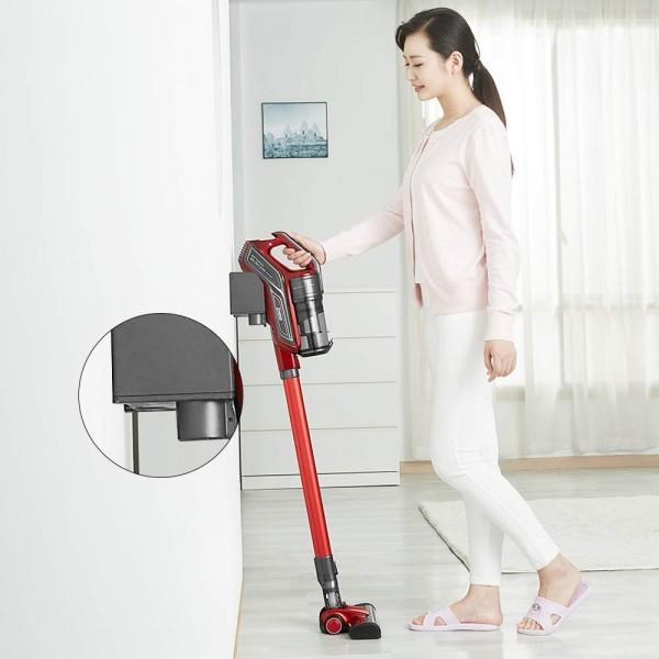 1円スタート 新品 未使用 コードレス掃除機 サイクロン掃除機 超吸引力 ブラシレスモーター スティック型&ハンド型 2-in-1 充電式_画像6