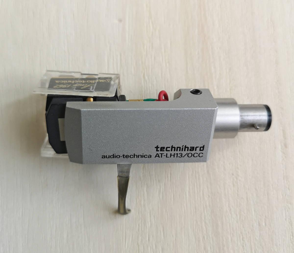 ☆audio-technica オーディオテクニカ AT33PTG ◆ヘッドシェル付 technihard audio-technica AT-LH13/OCC_画像3