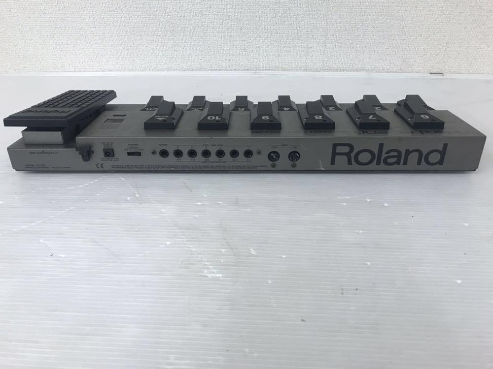 R051402 Roland FC-200 MIDIフットコントローラー 通電OK 動作未確認 ジャンク扱い_画像4
