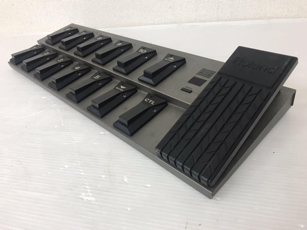 R051402 Roland FC-200 MIDIフットコントローラー 通電OK 動作未確認 ジャンク扱い_画像7
