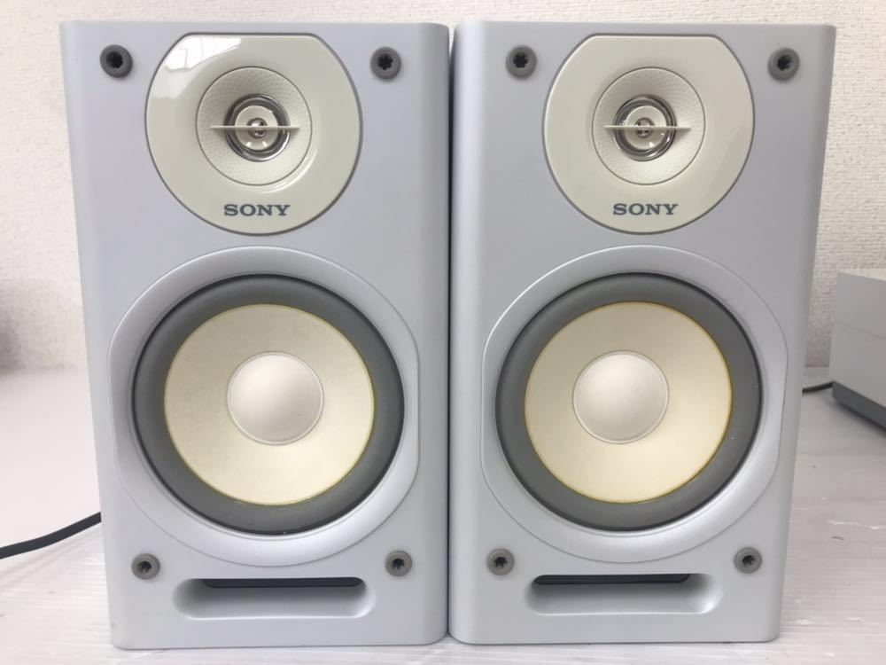 R052004 SONY ソニー ネットジューク HDDコンポ HCD- D500HD・スピーカー SS-D500HD 通電OK 音出し確認済み 初期化済み_画像2