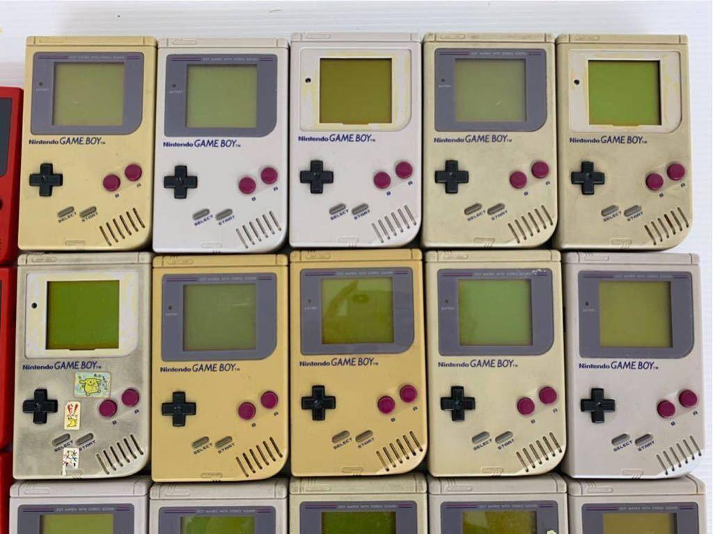 P052402 Nintendo ニンテンドー GAME BOY ゲームボーイ15台 ゲームボーイポケット15台セット 合計30台 ジャンク_画像2