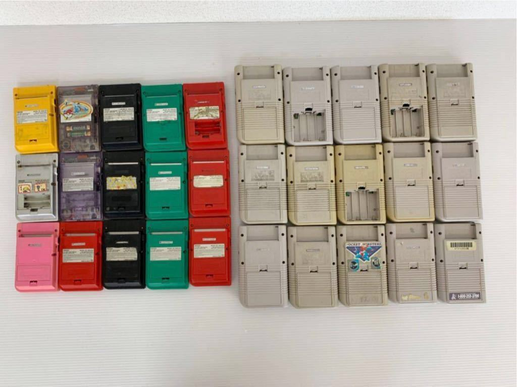 P052402 Nintendo ニンテンドー GAME BOY ゲームボーイ15台 ゲームボーイポケット15台セット 合計30台 ジャンク_画像6