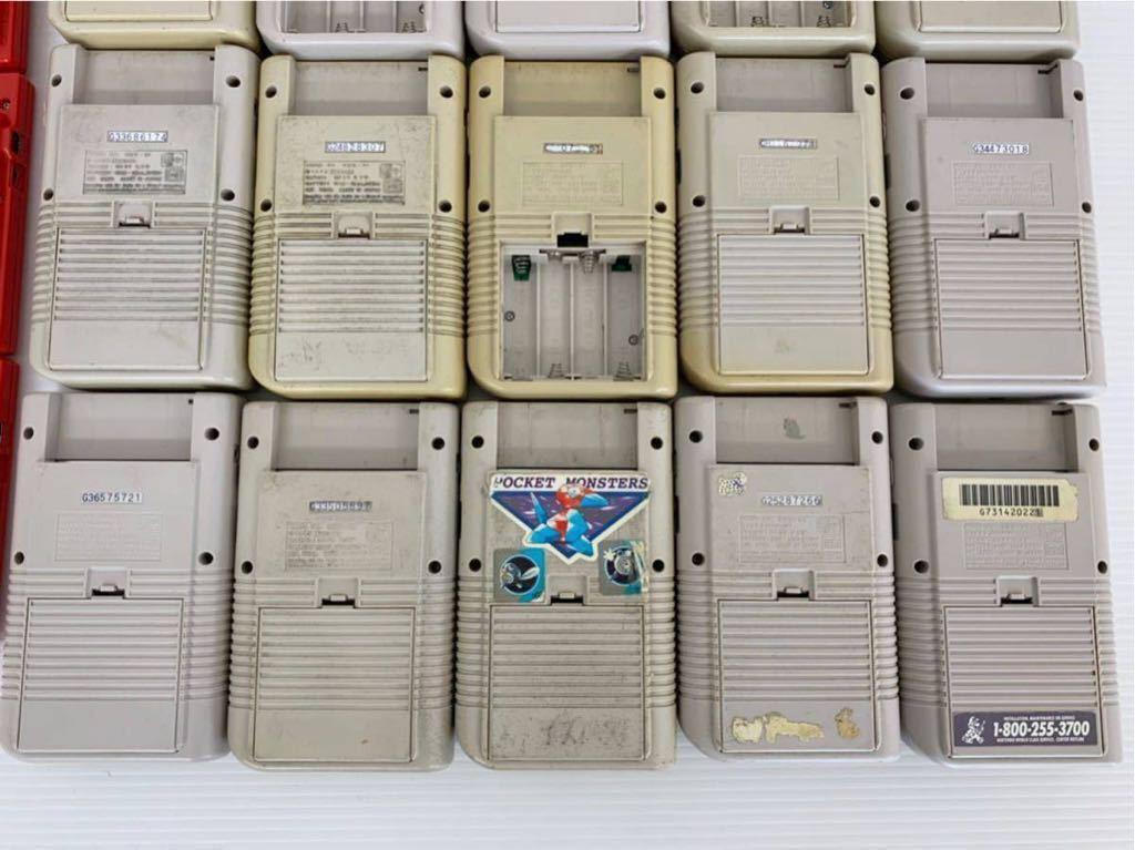 P052402 Nintendo ニンテンドー GAME BOY ゲームボーイ15台 ゲームボーイポケット15台セット 合計30台 ジャンク_画像8