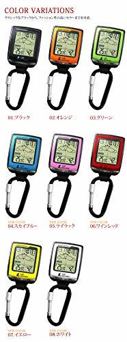 [ new goods ]lado weather outdoor clock high-quality atmospheric pressure temperature humidity weather digital compass ( black )