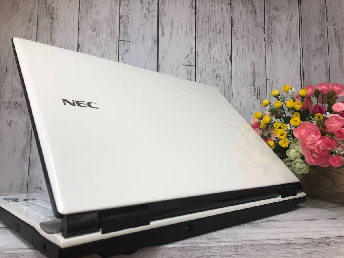 【美品+爆速大容量SSD+タッチパネル】Windows10☆NEC LL750☆最強 i7-4700MQ☆新品SSD 512GB☆メモリ8GB☆Webカメラ☆DVD☆USB3.0☆_画像3