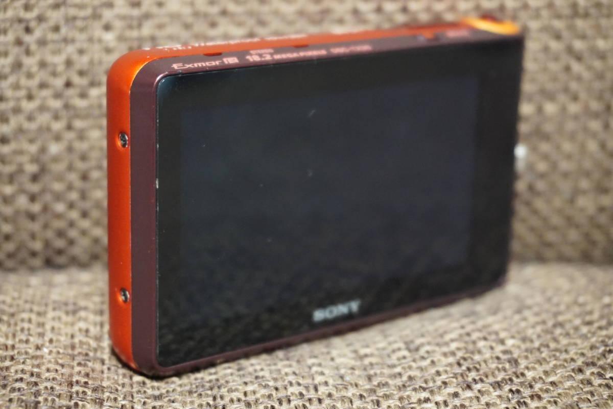 SONY サイバーショット DSC-TX30 中古 コンデジ 防水 光学5倍ズーム _画像5