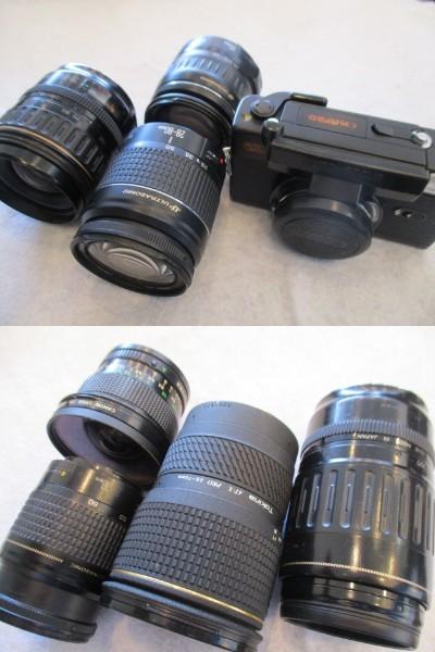 カメラ レンズ ストロボ 等 まとめ売り Nicon canon konica PENTAX OLYMPUS FUJIFILM 等_画像8