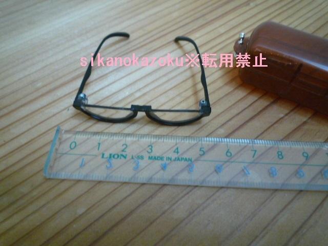 ミニチュア 眼鏡 めがね メガネ サングラス アンダーリム ドール ブライス モンチッチ シロクマ貯金箱 のカスタムにいかがでしょうか?_画像5