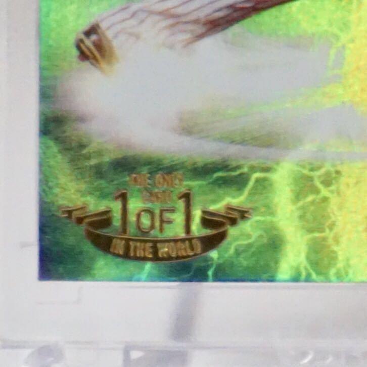 BBM2015 1st 1of1 東京ヤクルト 川端慎吾 CROSS PLASMA 1枚限定ホロパラレル 優勝年_画像2