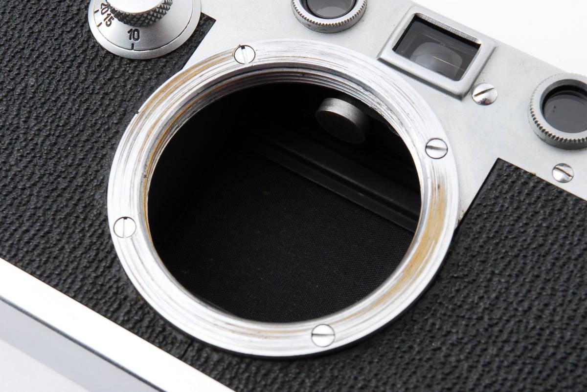 ★☆ライカ Ernst Leitz Wetzlar Leica Ⅲc ボディ #534☆★_画像9