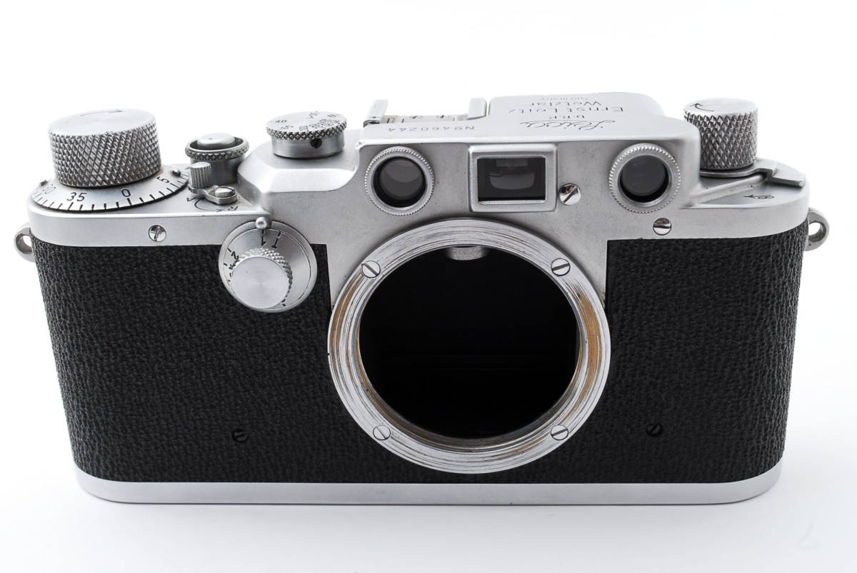 ★☆ライカ Ernst Leitz Wetzlar Leica Ⅲc ボディ #534☆★_画像2