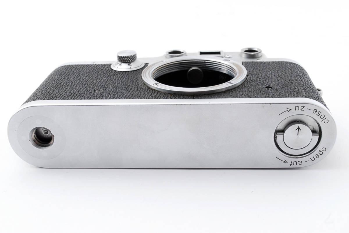 ★☆ライカ Ernst Leitz Wetzlar Leica Ⅲc ボディ #534☆★_画像5