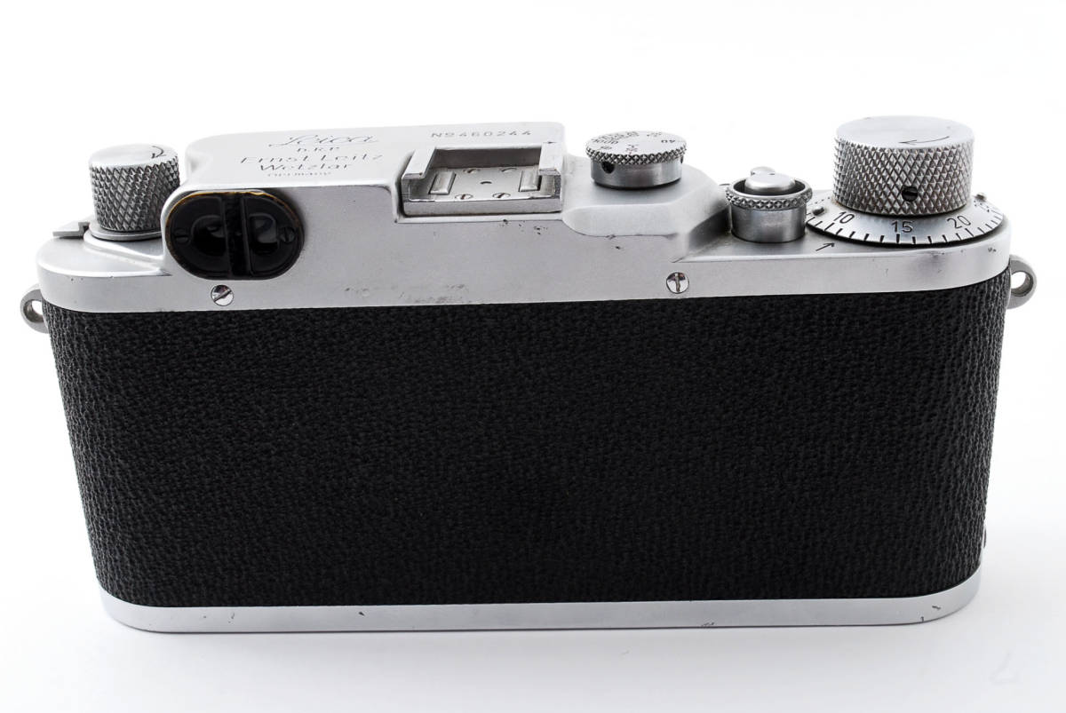 ★☆ライカ Ernst Leitz Wetzlar Leica Ⅲc ボディ #534☆★_画像3