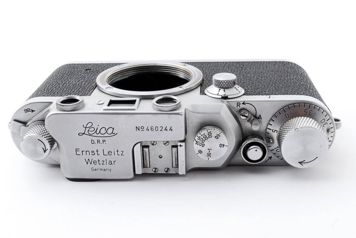 ★☆ライカ Ernst Leitz Wetzlar Leica Ⅲc ボディ #534☆★_画像4