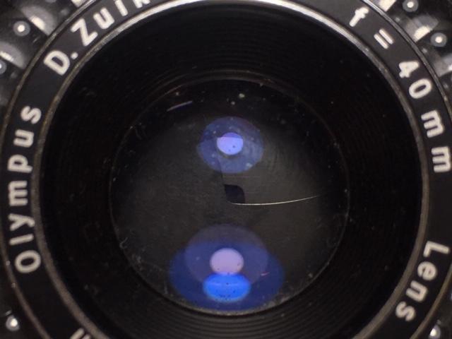 ※4247 OLYMPUS TRIP35 オリンパス 2:2.8 F=40mm フィルムカメラ 動作未確認 ジャンク_画像9