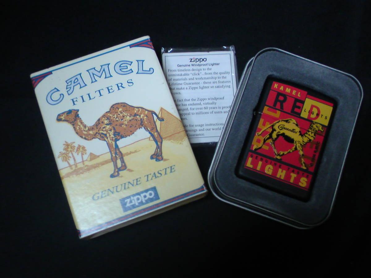 Zippo (Camel) キャメル レッド ブラックマット プロトタイプ1995