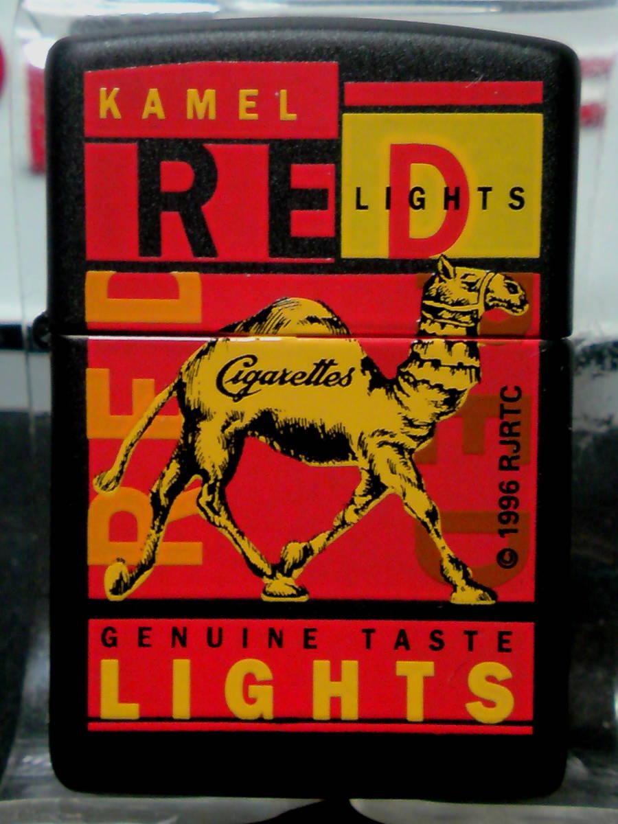 Zippo (Camel) キャメル レッド ブラックマット プロトタイプ1995_画像2