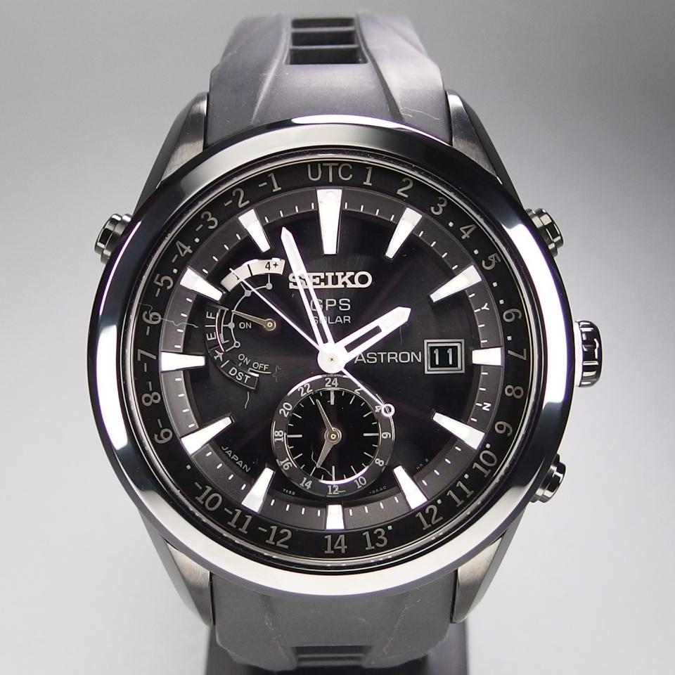 bab7b169c2 代購代標第一品牌- 樂淘letao - 【超美品メーカーコンプリート修理済送料無料】 SEIKO セイコーASTRON アストロンソーラーGPS 電波 修正SSxセラミックメンズ腕時計