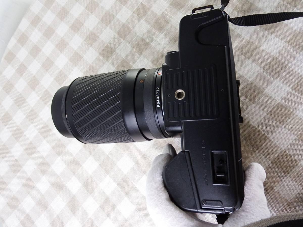 中古品 ジャンク品 KYOCERAキョーセラ AF80-200mm/4-4.8 52mm 電源は入ります_画像3