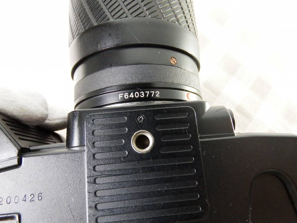 中古品 ジャンク品 KYOCERAキョーセラ AF80-200mm/4-4.8 52mm 電源は入ります_画像4