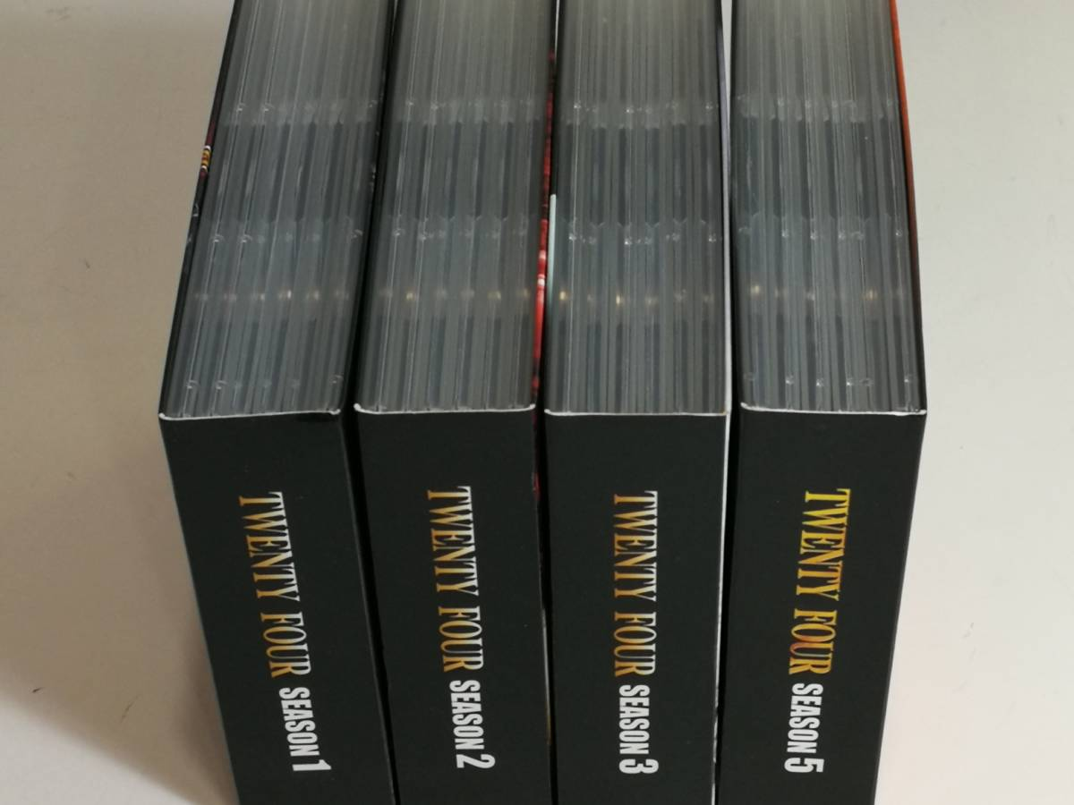 ◆ 24 -TWENTY FOUR- シーズン1,2,3,5 (SEASONSコンパクト・ボックス) [DVD] 4本セット_画像6