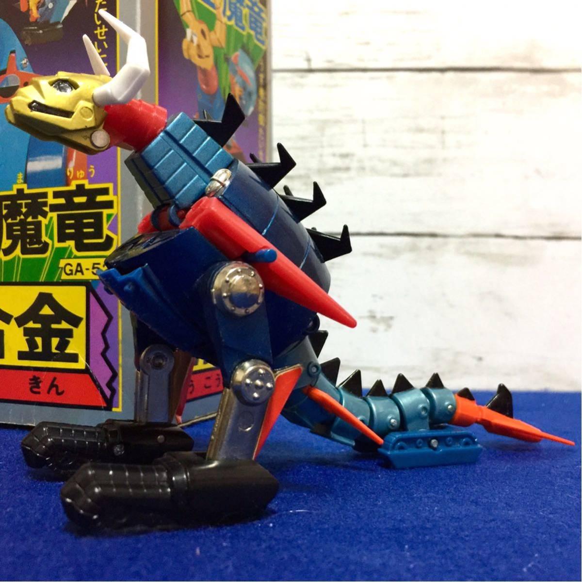 ポピー 大空魔竜ガイキング 超合金 大空魔竜 GA-52 昭和当時もの 昭和アニメヒーロー タカトク バンダイ フィギュア _画像7