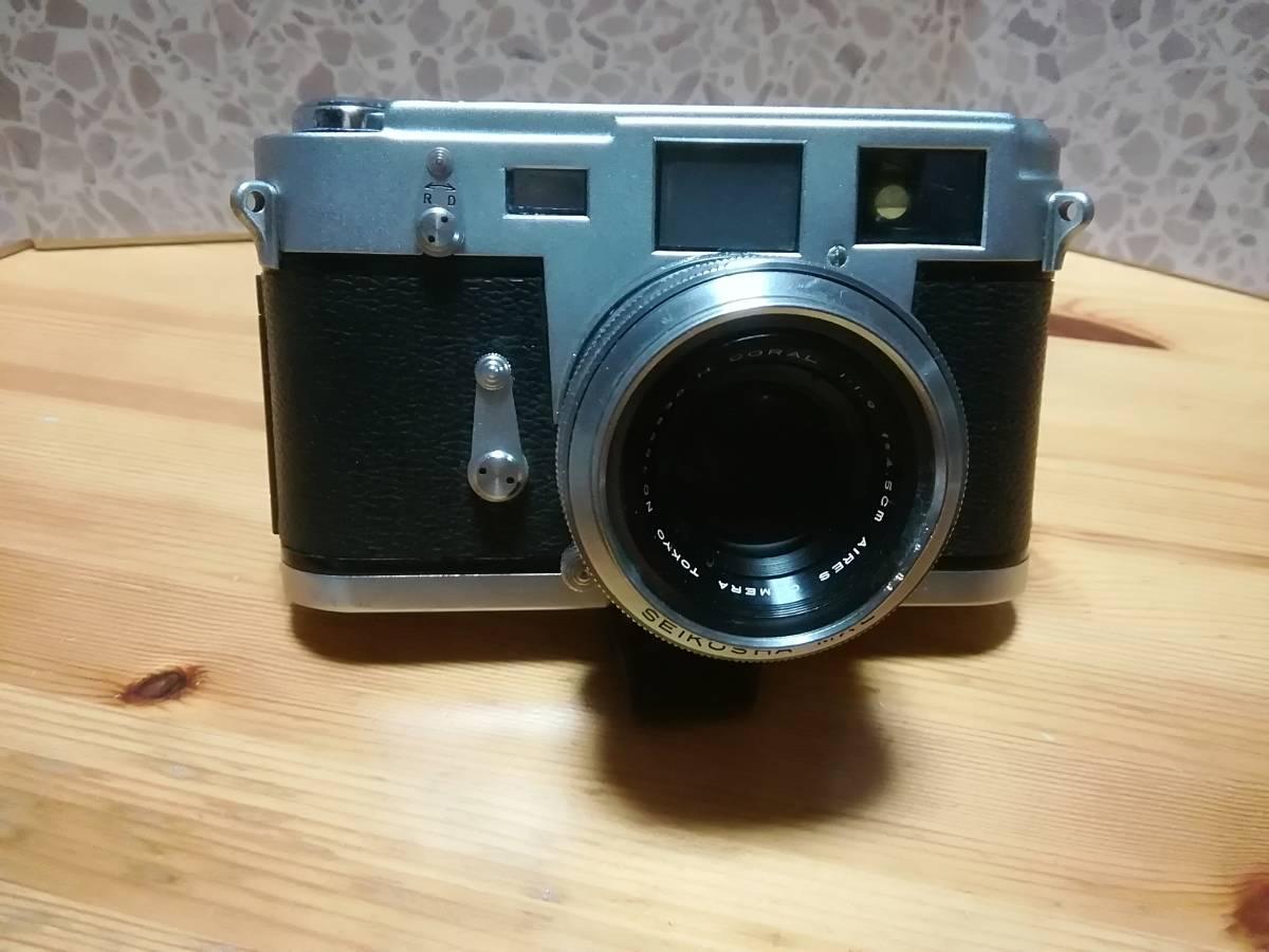 和製ライカM3 アイレス 35ⅢC f1.9付き アイレス写真機製作所 クラシックカメラ