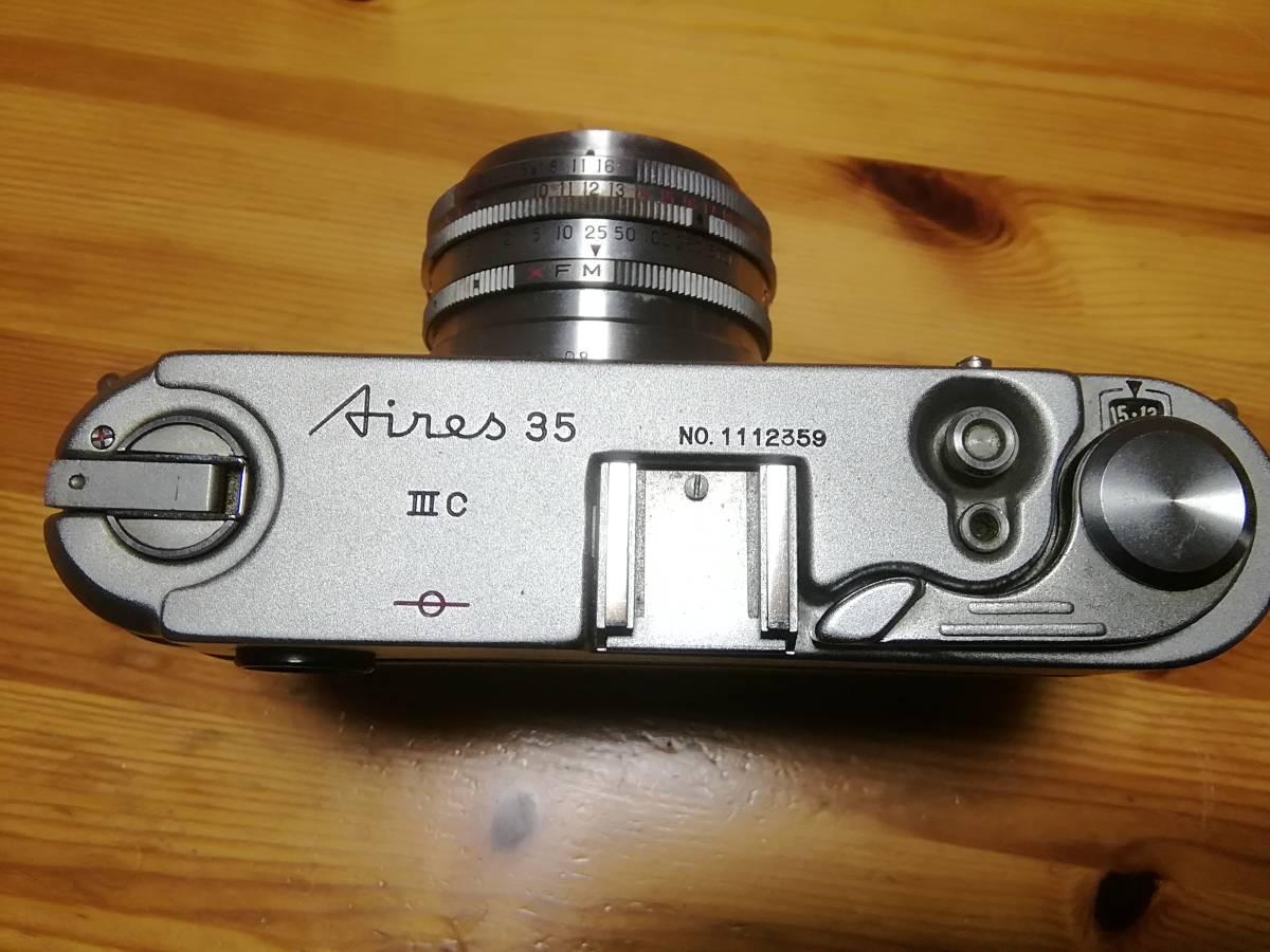 和製ライカM3 アイレス 35ⅢC f1.9付き アイレス写真機製作所 クラシックカメラ_画像2