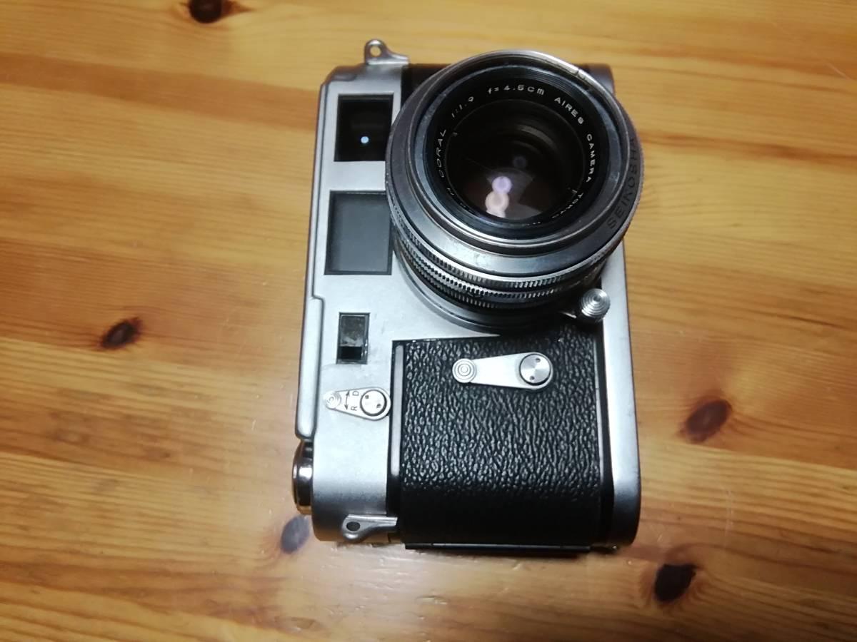 和製ライカM3 アイレス 35ⅢC f1.9付き アイレス写真機製作所 クラシックカメラ_画像4