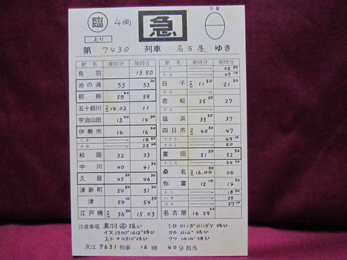 記念切符 近鉄 680系電車さよなら運転記念乗車券&乗車証明書 スタフ 奈良電デハボ1200形_画像6