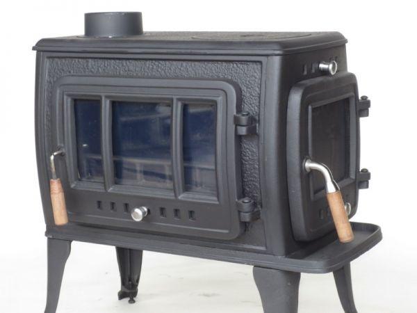 ★訳有り処分★実用型 煮炊きOK・薪40cm・薪ストーブ2053R型 ロストル付