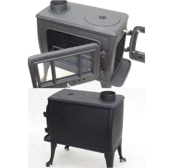 ★訳有り処分★実用型 煮炊きOK・薪40cm・薪ストーブ2053R型 ロストル付_画像2