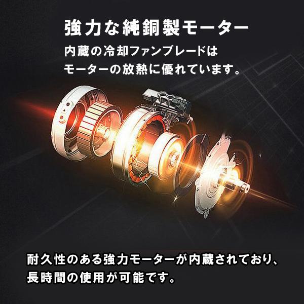 【in36】インパクトドライバー 36V 充電式 18+1段トルク:: 無段階変速 電動ドリル 電動ドライバー 2段階速度 コードレス_画像3