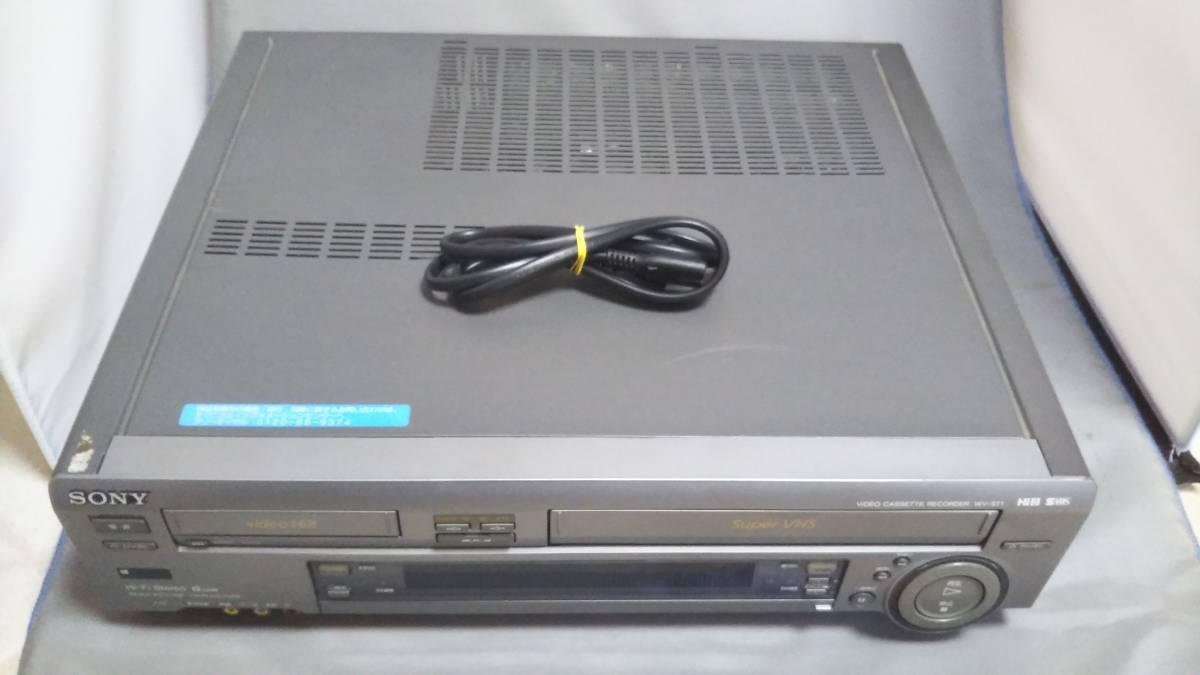 SONY ソニー ビデオカセットレコーダー WV-ST1 8mmビデオ ジャンク 品