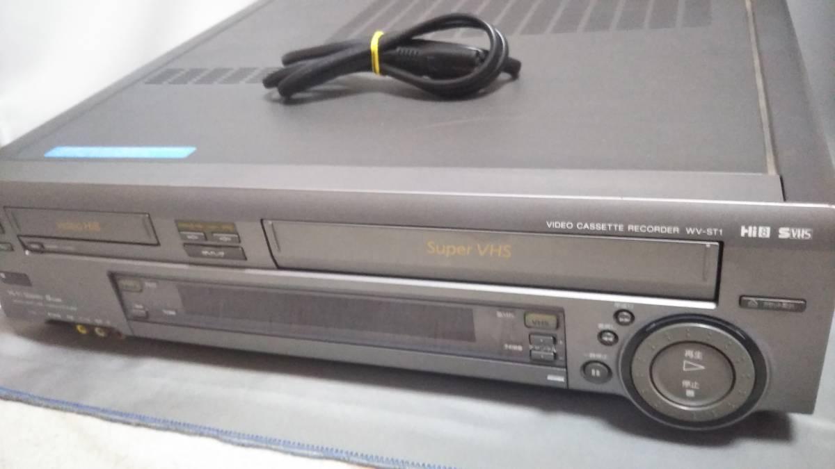 SONY ソニー ビデオカセットレコーダー WV-ST1 8mmビデオ ジャンク 品_画像2