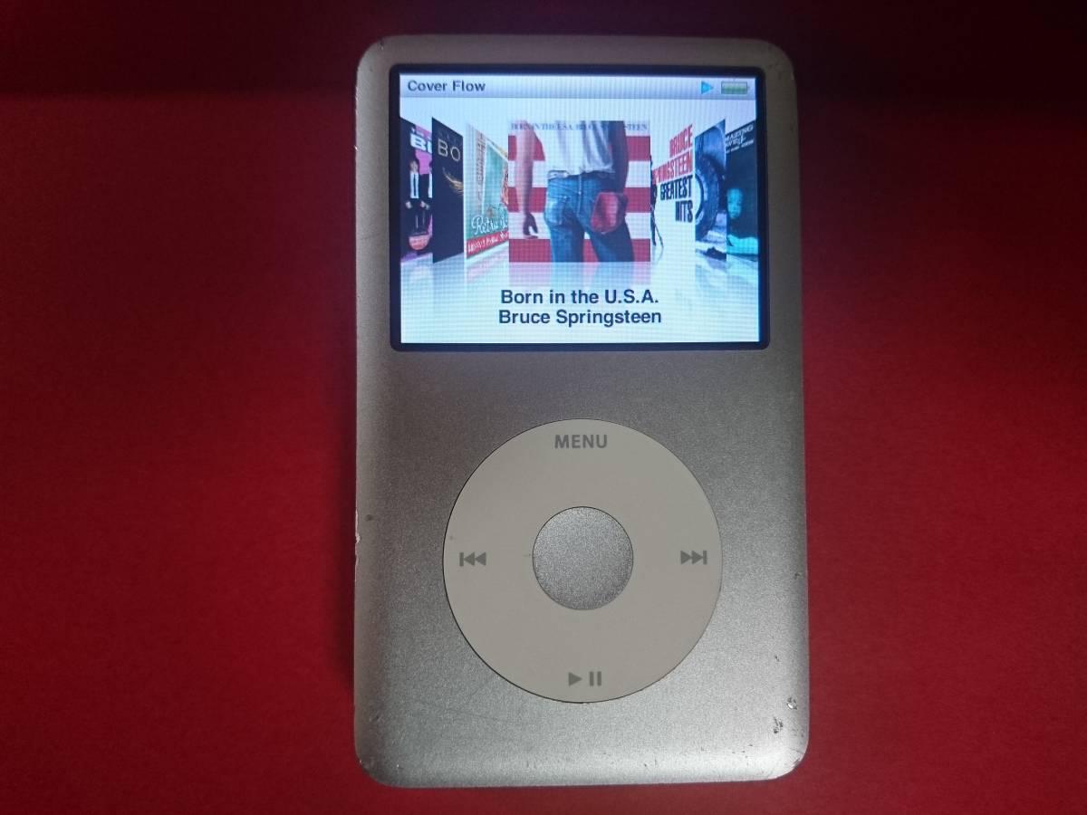 動作品 Apple ipod classic 160GB MB145J USED 第6世代_画像3
