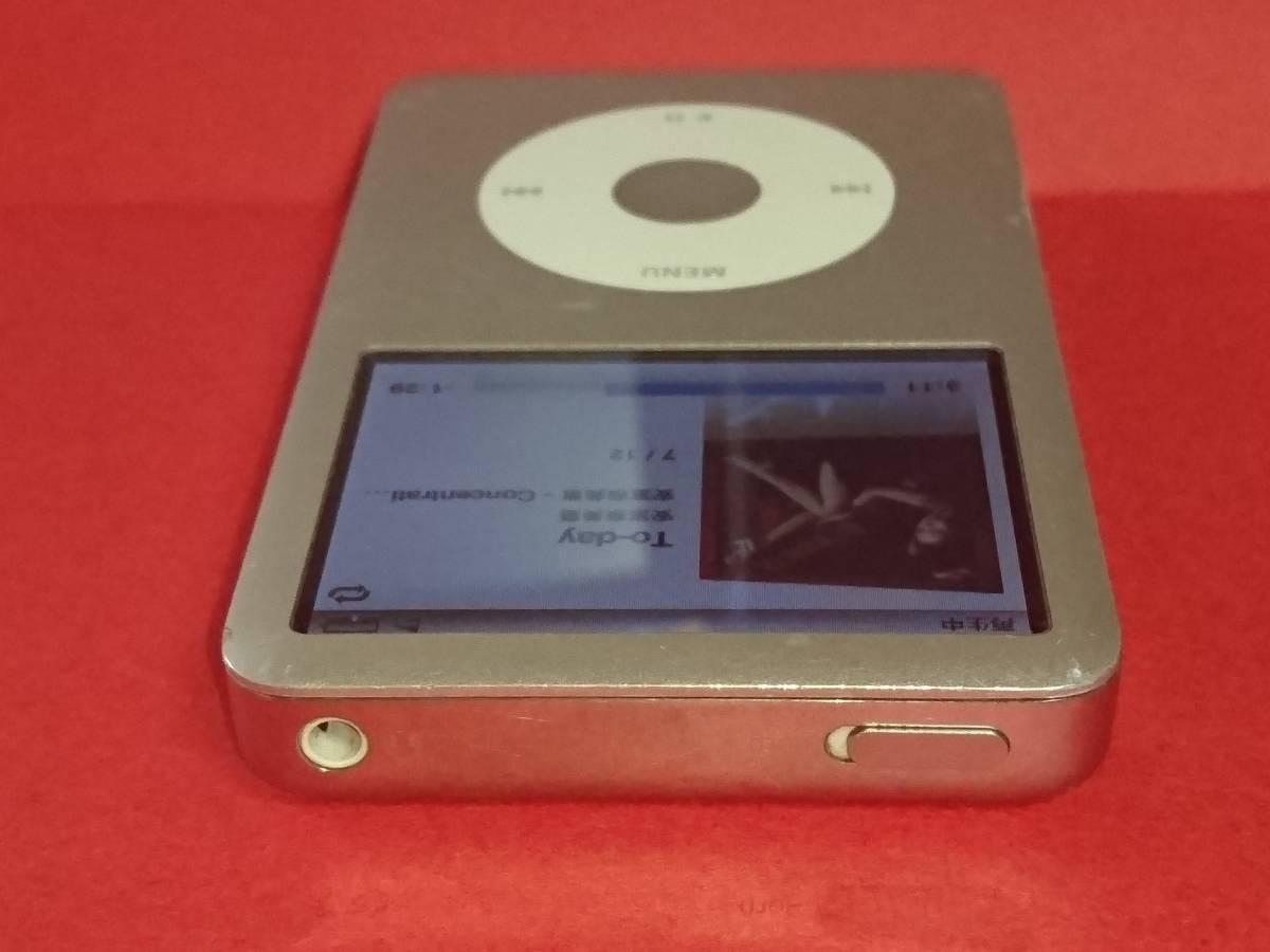動作品 Apple ipod classic 160GB MB145J USED 第6世代_画像9