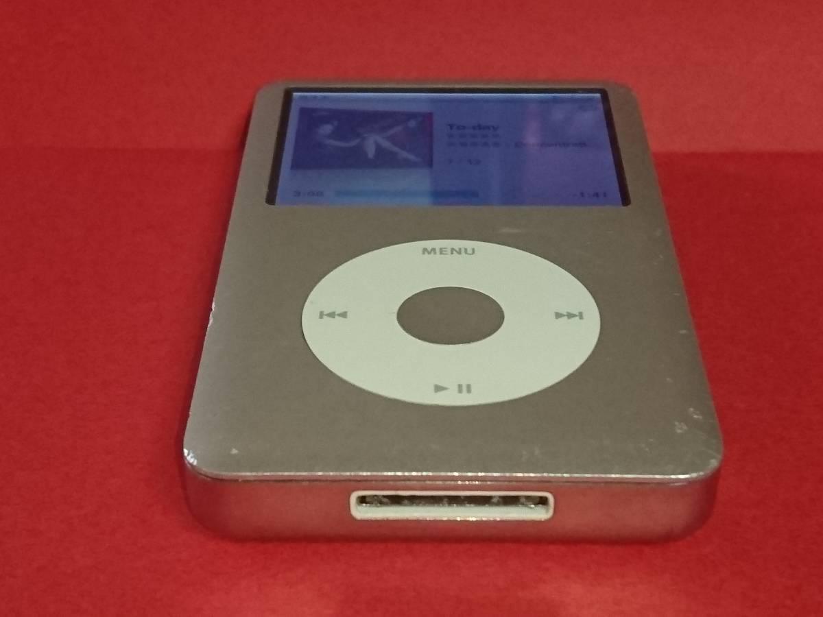動作品 Apple ipod classic 160GB MB145J USED 第6世代_画像8