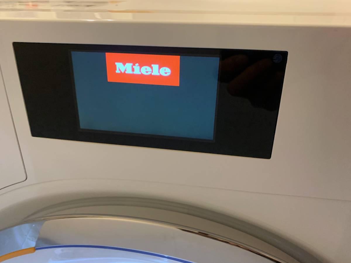 試運転のみ/Miele/洗濯機/WWR860 WPS PWash2.0/日本未発売/ミーレ/東京都から直送/引取歓迎/自動投入/9KG