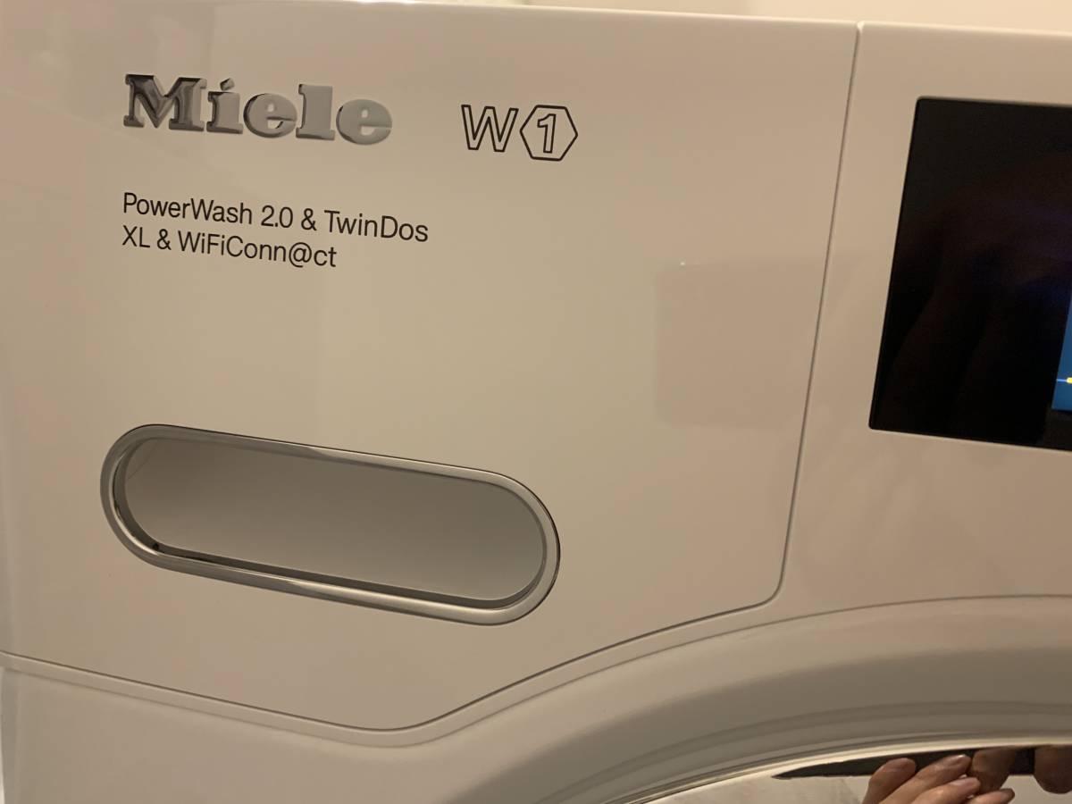 試運転のみ/Miele/洗濯機/WWR860 WPS PWash2.0/日本未発売/ミーレ/東京都から直送/引取歓迎/自動投入/9KG_画像8