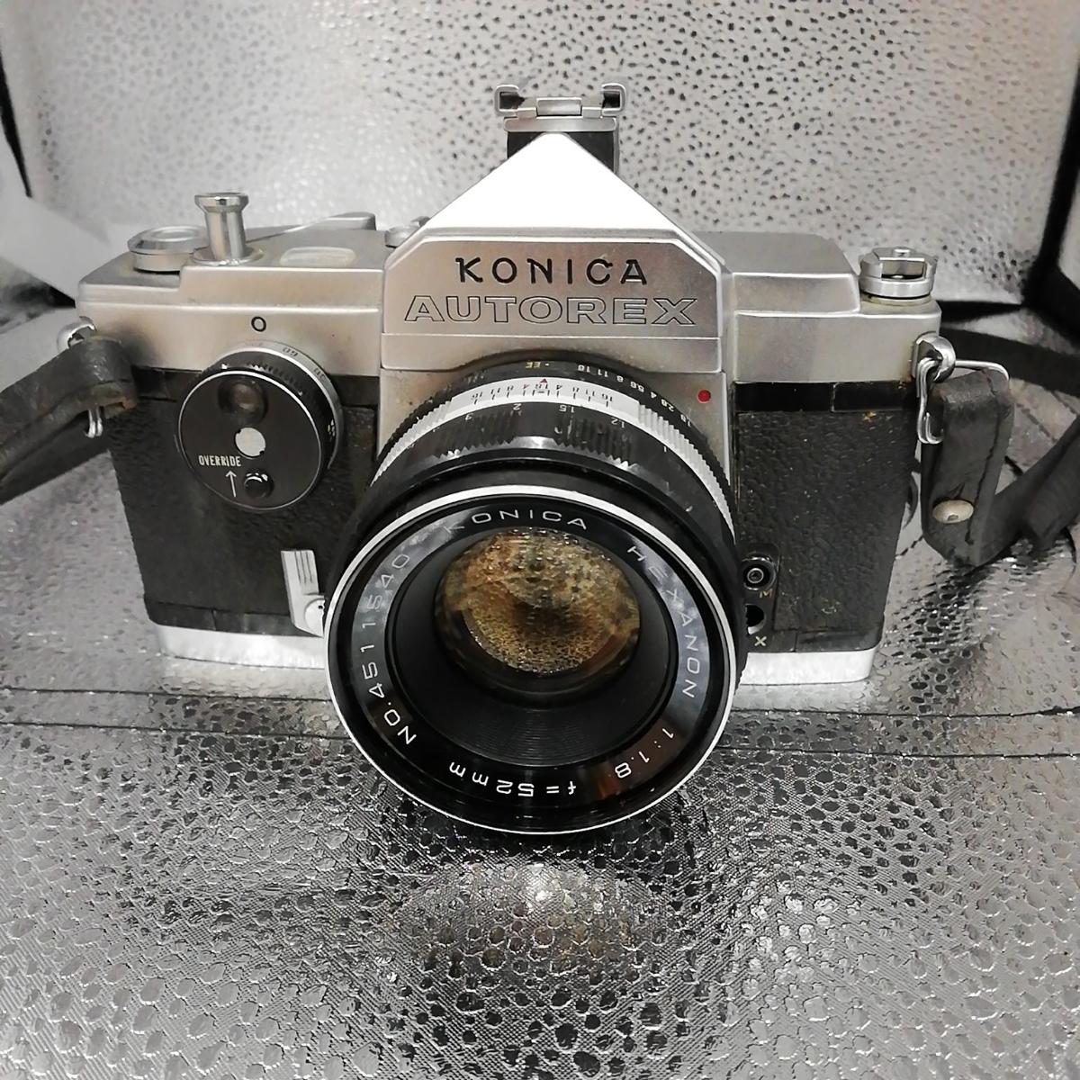 【中古品】KONICA コニカ オートレックス 一眼レフカメラ